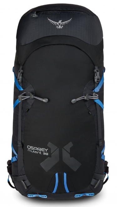 Рюкзак Osprey Mutant 38 Gritstone Black - Фото 2 большая