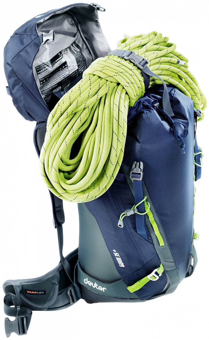 Рюкзак Deuter Guide 35+ Khaki-Navy - Фото 4 большая