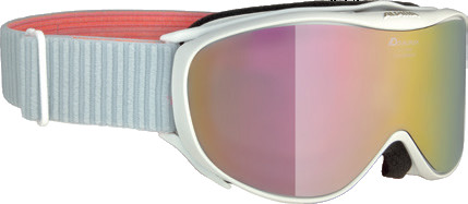Горнолыжные очки Alpina Challenge 2.0 MM White-Flamingo MM Pink S2/Mm Pink S2