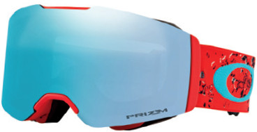 Горнолыжная маска Oakley Fall Line Arctic Fracture Red Sea/Prizm Snow Sapphire Iridium - Фото 1 большая