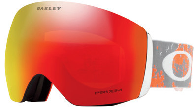 Горнолыжная маска Oakley Flight Deck Arctic Fracture Orange/Prizm Snow Torch Iridium - Фото 1 большая