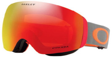 Горнолыжная маска Oakley Flight Deck XM Dark Brush Orange/Prizm Snow Torch Iridium
