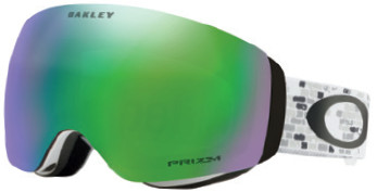 Горнолыжная маска Oakley Flight Deck XM LV Sig Snowed In Stealth/Prizm Snow Jade Iridium