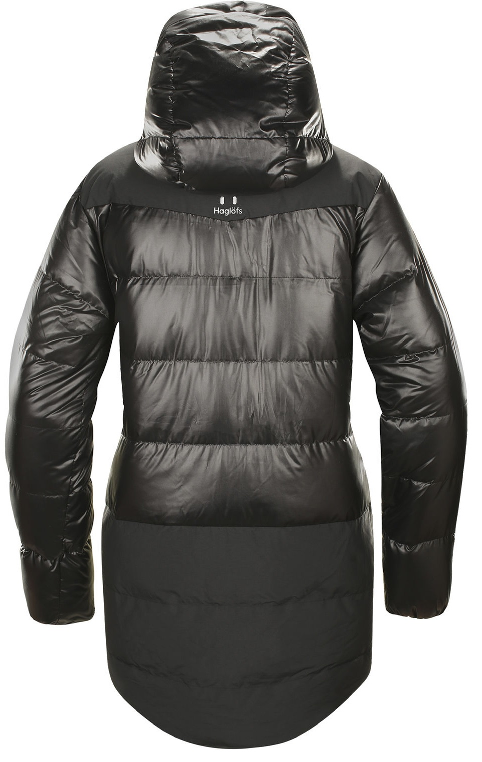 Куртка женская Haglofs Venjan Down True Black - Фото 2 большая