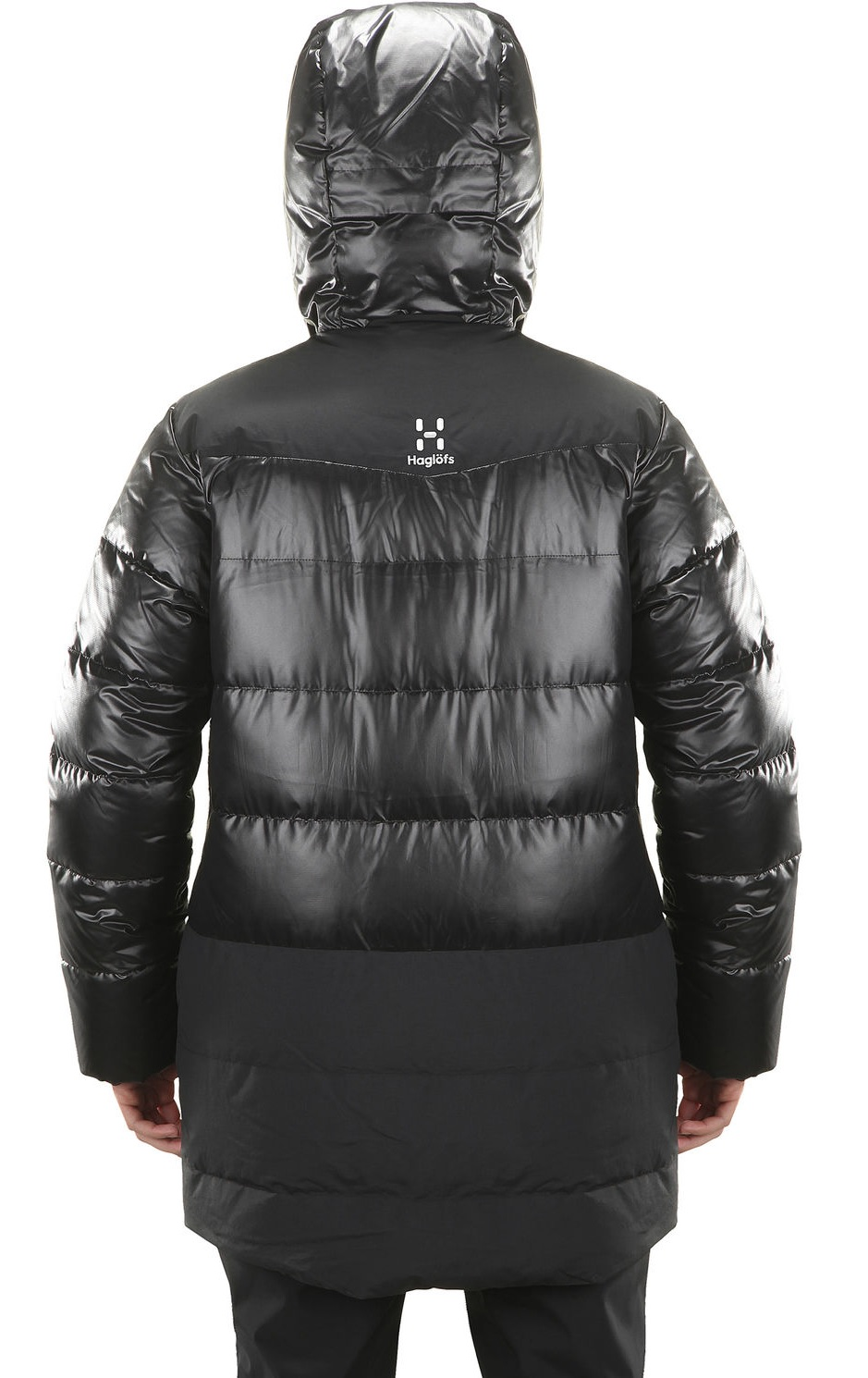 Куртка женская Haglofs Venjan Down True Black - Фото 4 большая
