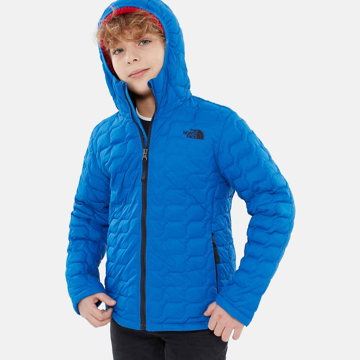 Куртка детская The North Face ThermoBall Hoodie Turkish Sea - купить ... b3aedaa3ad2