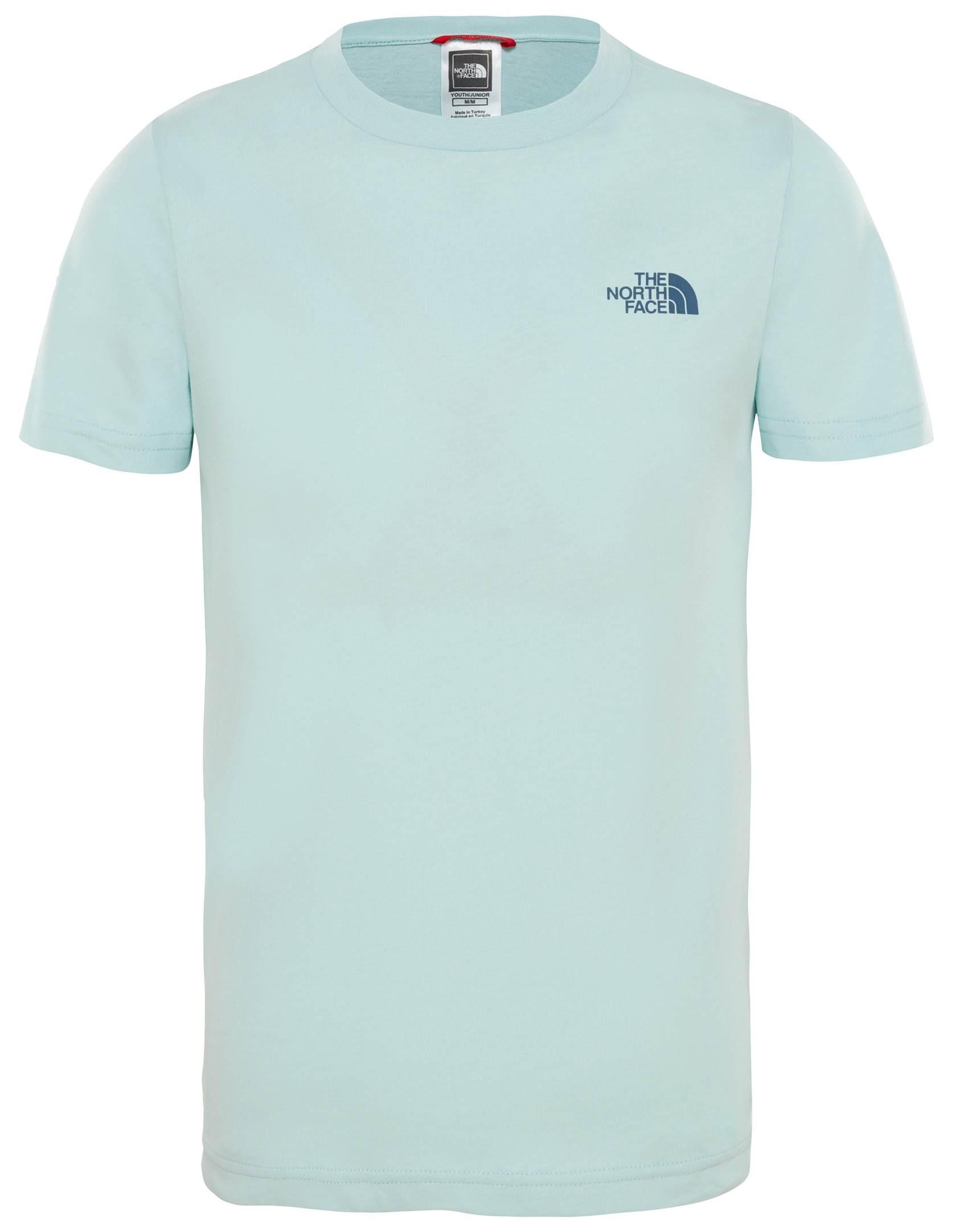 Футболка детская The North Face Ss Simple Dome Canal Blue - Фото 1 большая