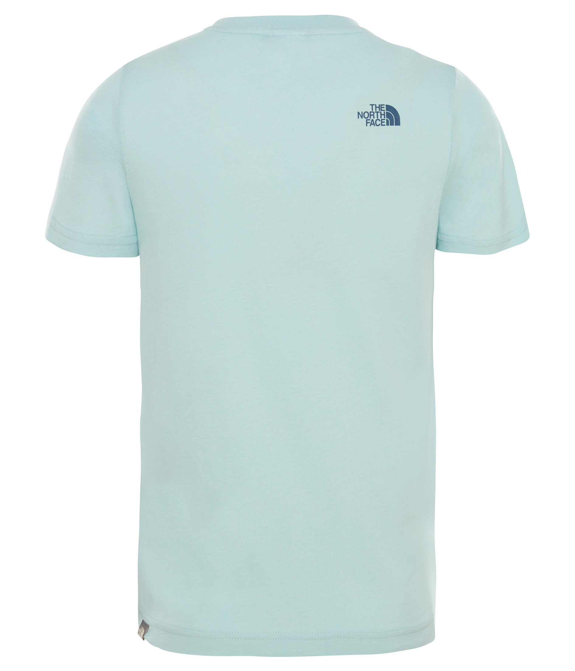 Футболка детская The North Face Ss Simple Dome Canal Blue - Фото 2 большая