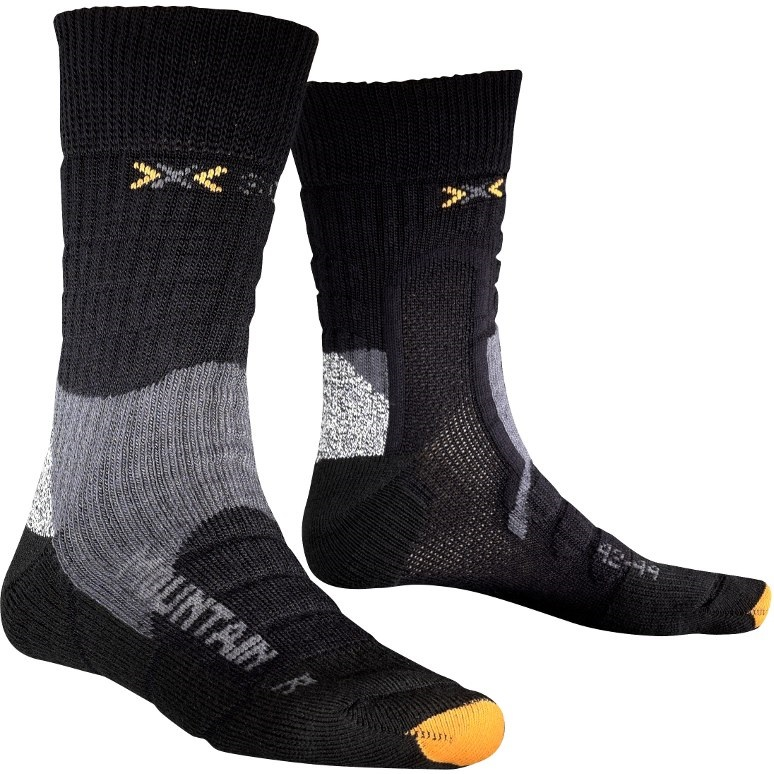Носки X-Socks Trekking Mountain Extra Warm Mid Black - Фото 1 большая