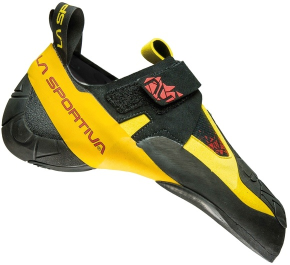 Скальные туфли La Sportiva Skwama Black/Yellow - Фото 1 большая