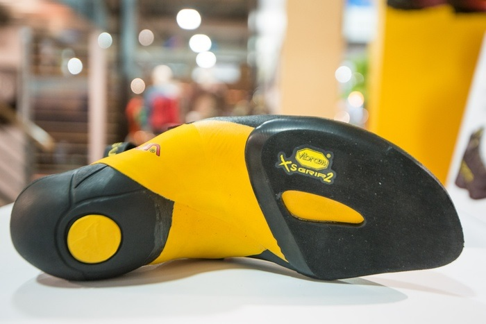 Скальные туфли La Sportiva Skwama Black/Yellow - Фото 4 большая