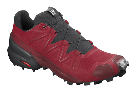 Кроссовки мужские Salomon Speedcross 5 Barbados Cherry/Black