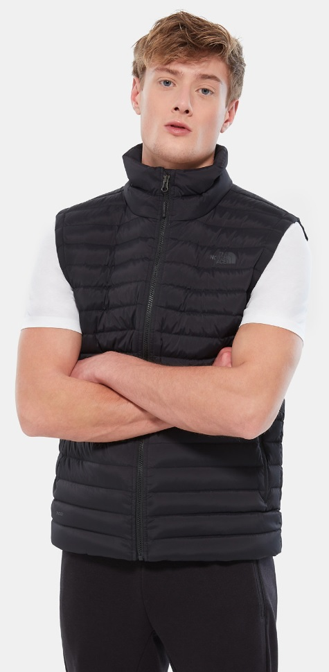 Жилет мужской The North Face Stretch Down TNF Black - Фото 3 большая