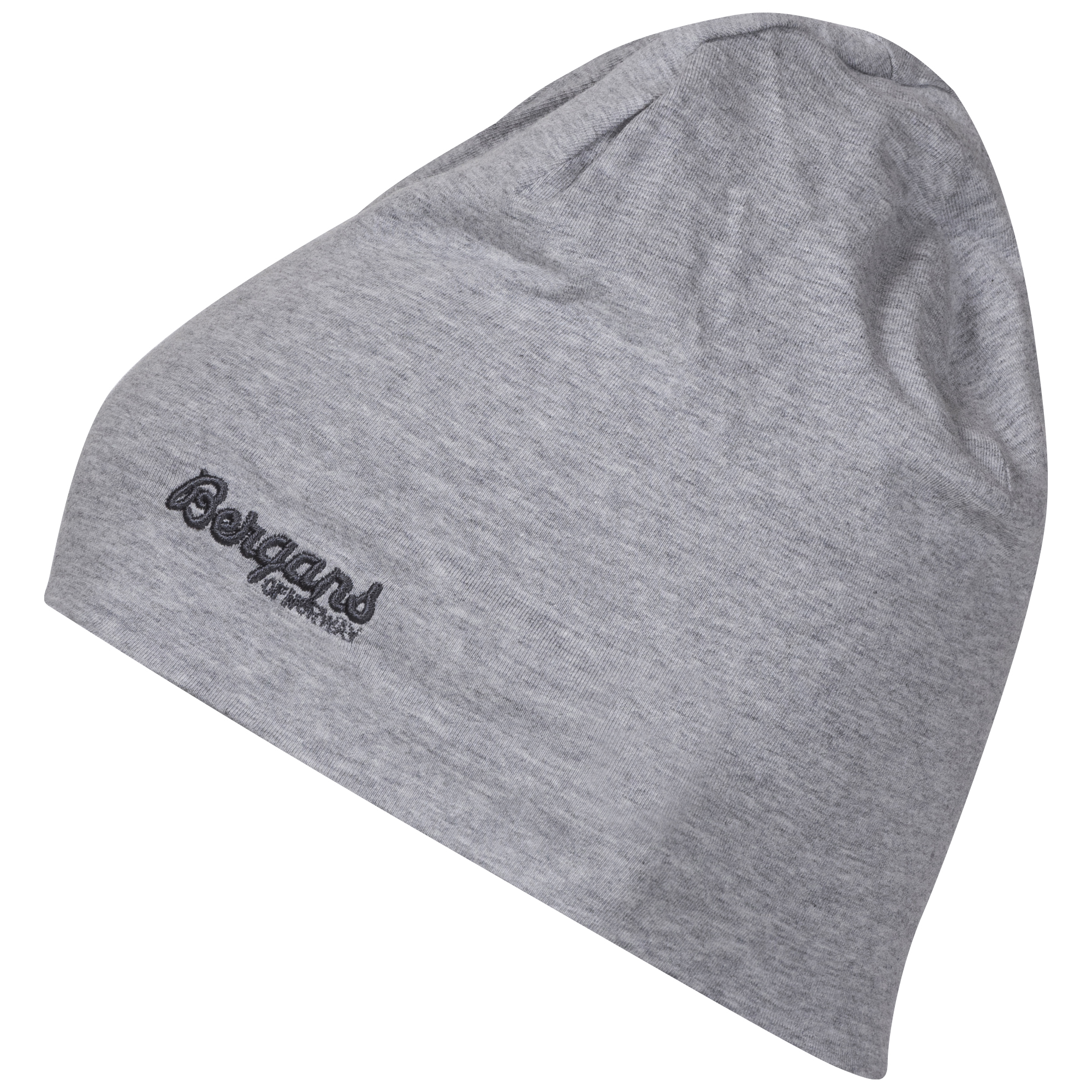Шапка детская Bergans Cotton Beanie Grey Mel - Фото 1 большая