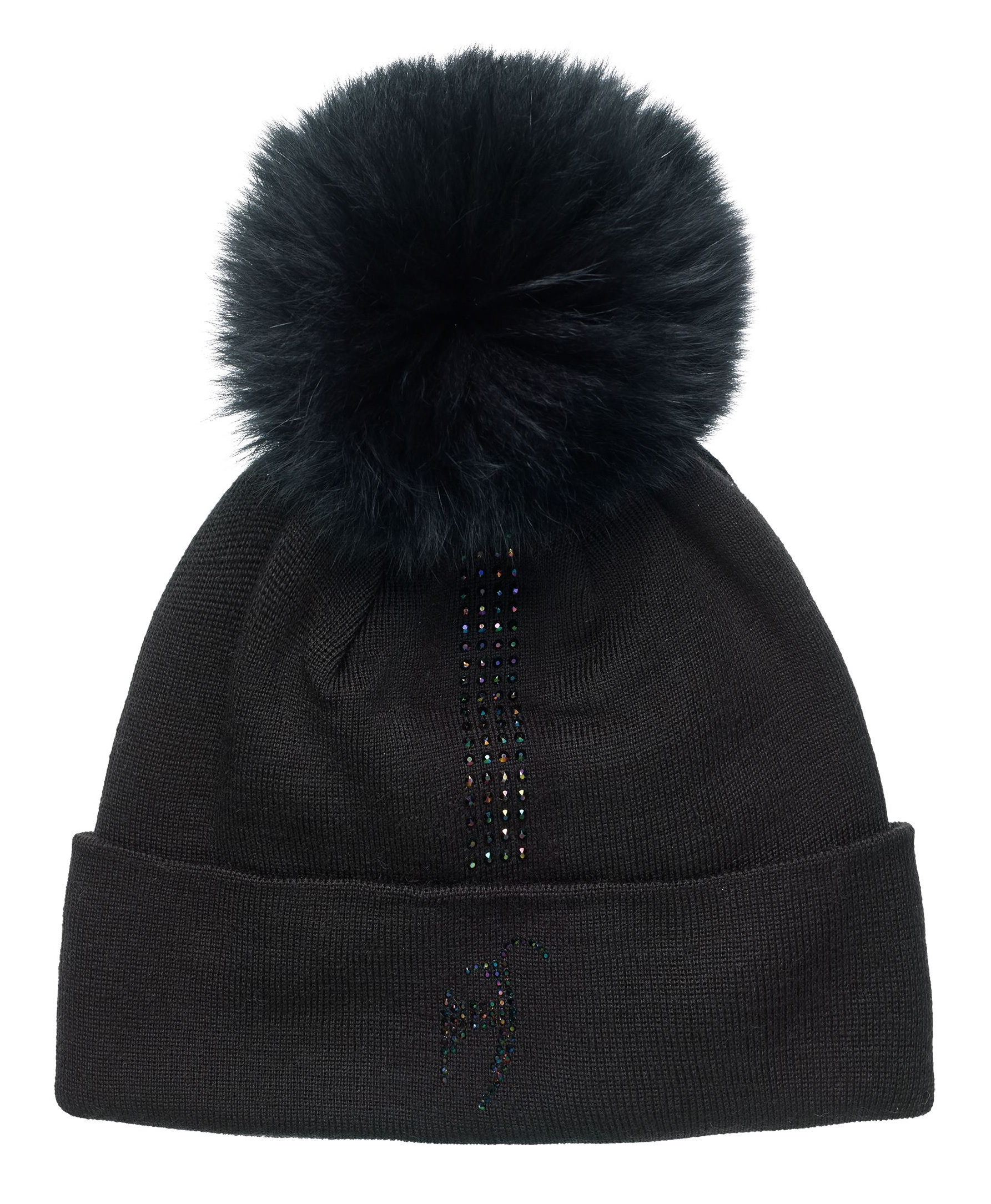 Шапка женская Toni Sailer Elise Fur Black - Фото 1 большая