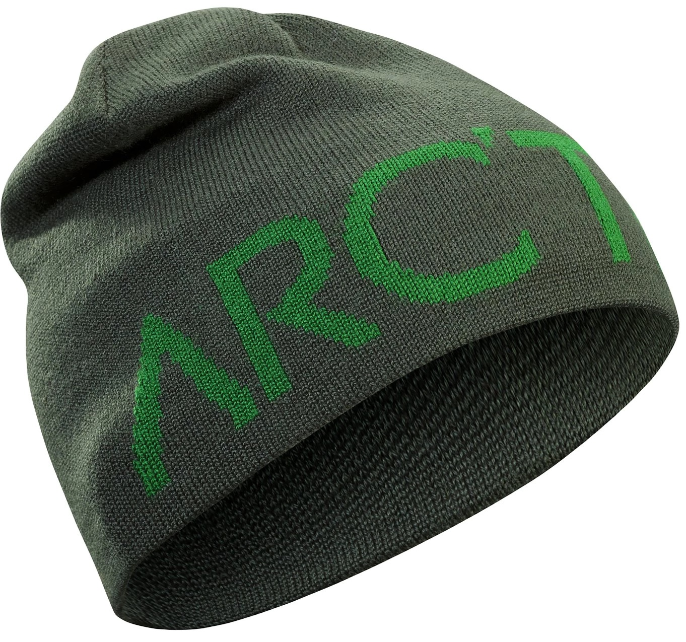 Шапка Arcteryx Word Head Toque Conifer/Canyon - Фото 1 большая