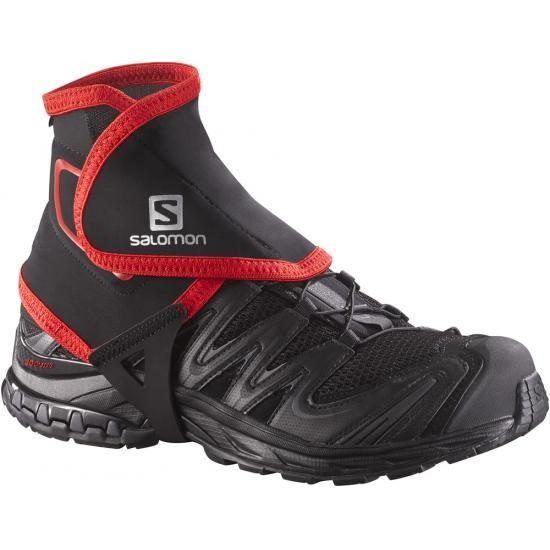 Гетры Salomon Trail Gaiters High Black - Фото 1 большая