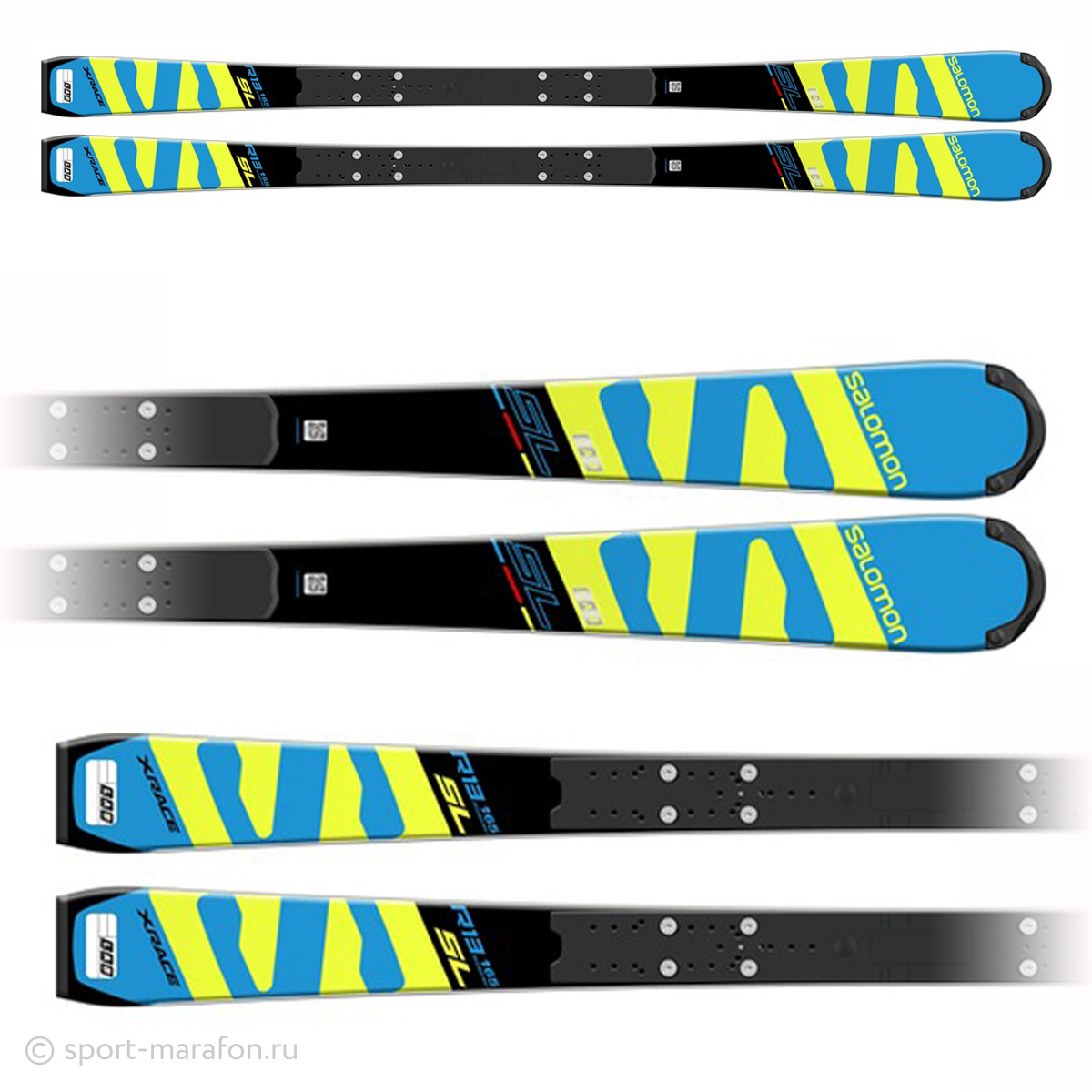 Горные лыжи Salomon Skis I X-Race Lab Sl+ Race Platexx - Фото 2 большая