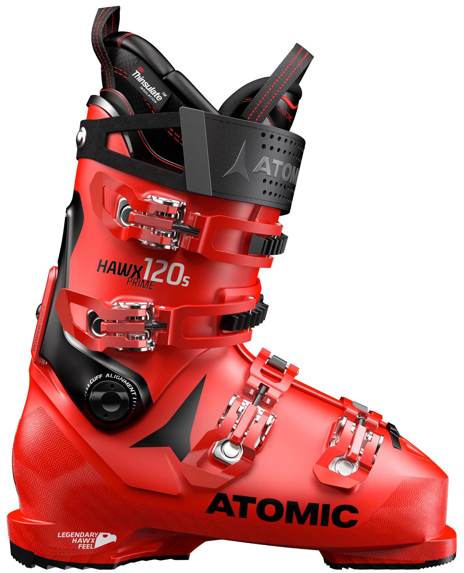 58b0df4771aa Горнолыжные ботинки Atomic Hawx Prime 120 S Red Black - Фото 1 большая