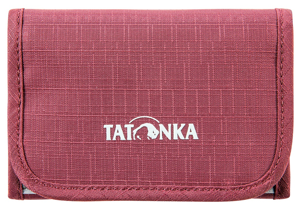 Кошелек Tatonka Folder Bordeaux Red - Фото 1 большая