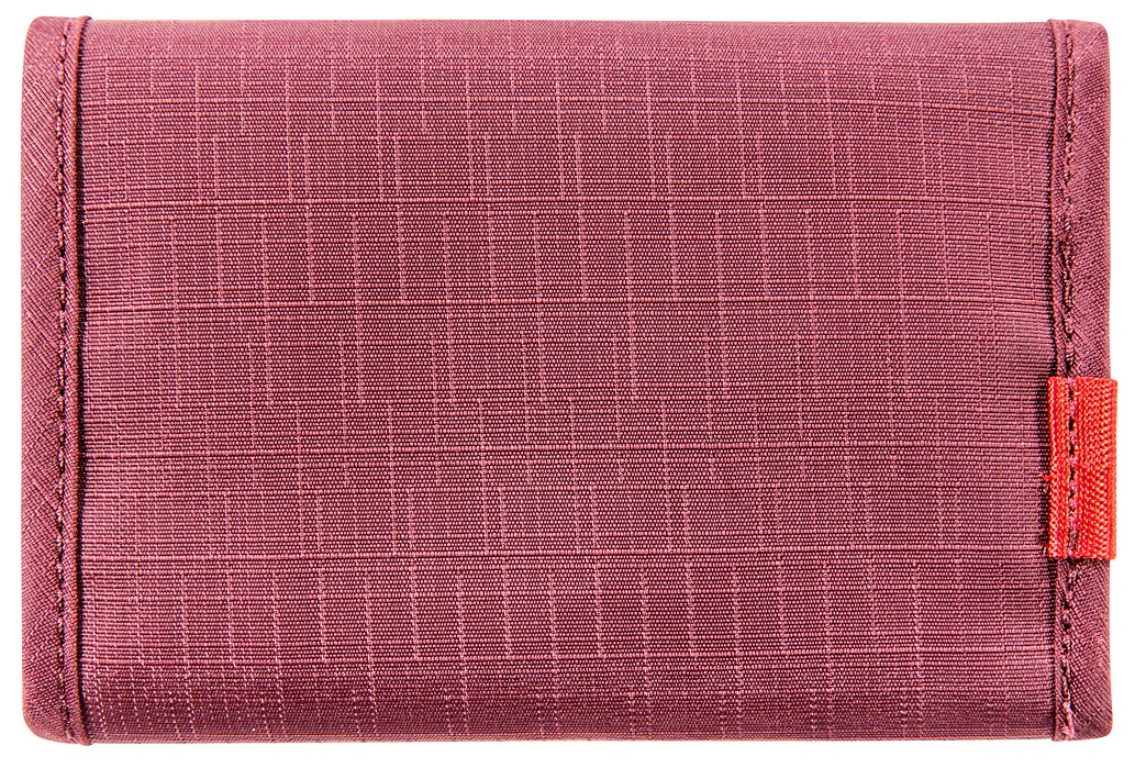 Кошелек Tatonka Folder Bordeaux Red - Фото 2 большая