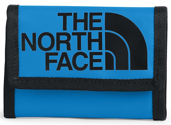 Кошелек The North Face Base Camp Wallet Clear Lake Blue/TNF Black - Фото 1 большая