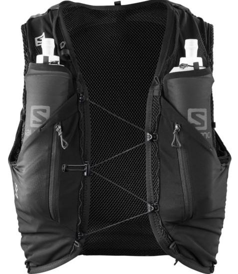 Рюкзак Salomon ADV Skin 12 Set Black - Фото 2 большая