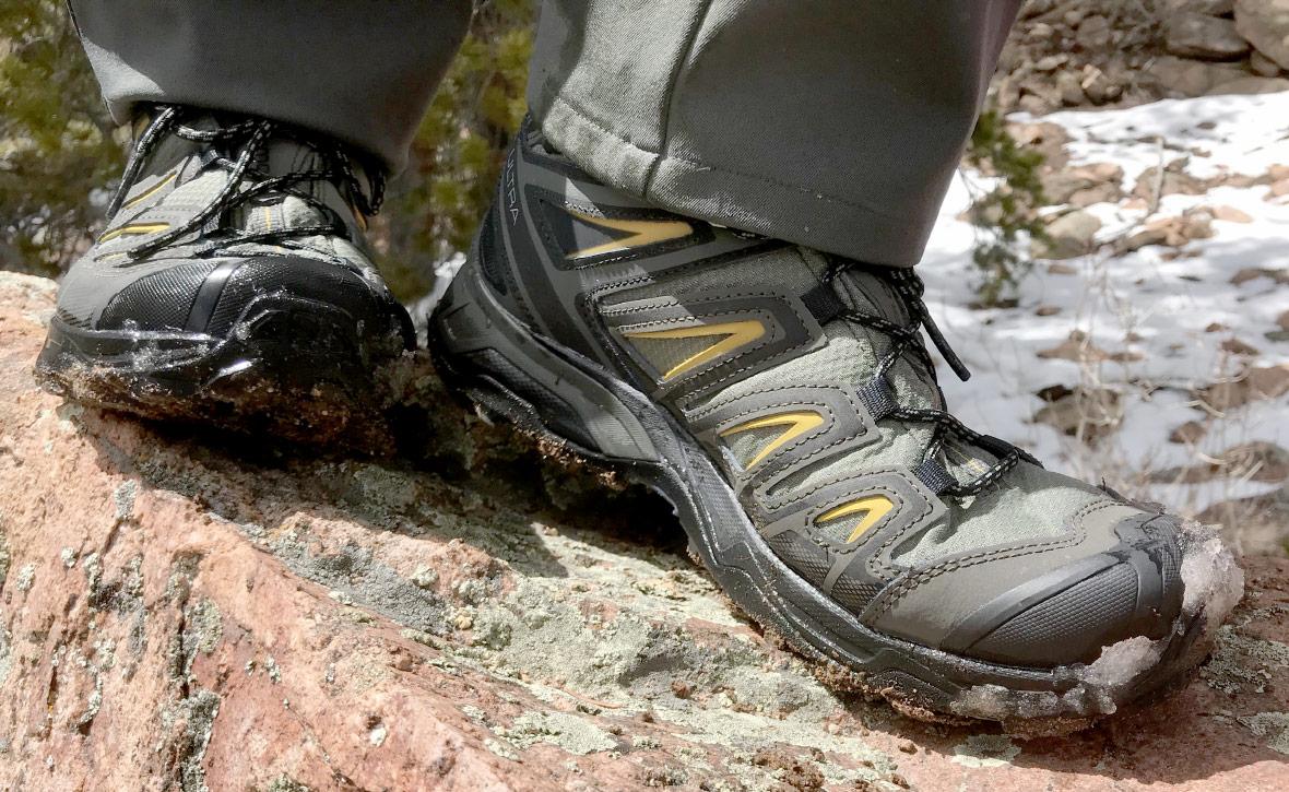 Salomon всегда славился ботинками для горных активностей. На его технологии  и лекала равнялись другие производители и делают это даже сейчас. be96c4f855d9e