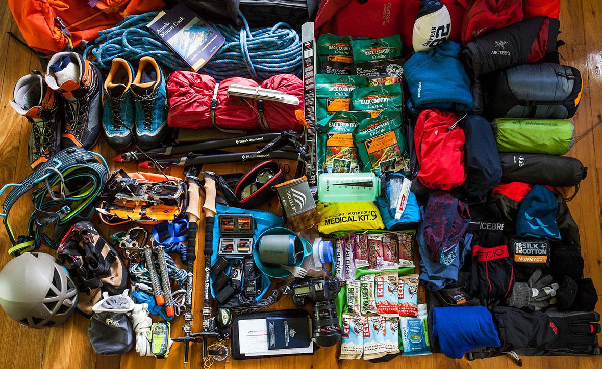 Список снаряжения альпиниста. Как не взять лишнего  — Блог «Спорт-Марафон» 0a80bdf4931