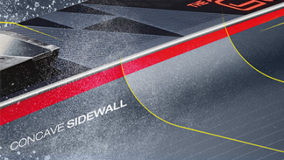 Concave Sidewall
