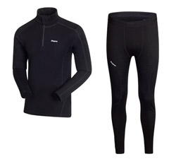 Термобельё Bergans HalfZip и Bergans Tights Lightweight 200