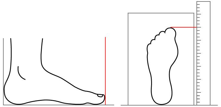 96443a497 Таким образом, вы получаете длину стопы в сантиметрах. Даже если  производитель обуви не дает данные о размерах в системе mondopoint, наши  консультанты ...
