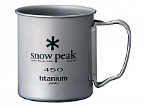 Кружка Snow Peak Titanium Single 450