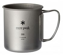Кружка Snow Peak Titanium Single 300