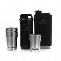 Набор Stanley Adventure Steel Shots + Flask Matte Black