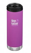 Термокружка Klean Kanteen TKWide Cafe Cap 0,47 Berry Bright