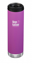 Термокружка Klean Kanteen TKWide Cafe Cap 0,59 Berry Bright