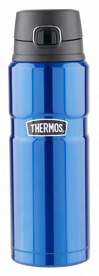 Термос Thermos Stainless King™ Drink Bottle 700 Midnight Blue - Фото 1 большая