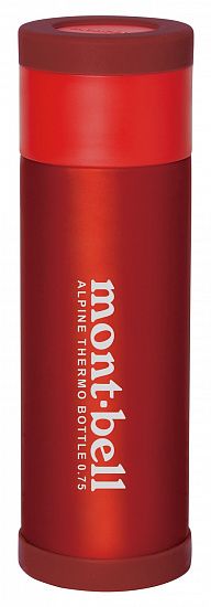 Термос MontBell Alpine Thermo Bottle 750 Red