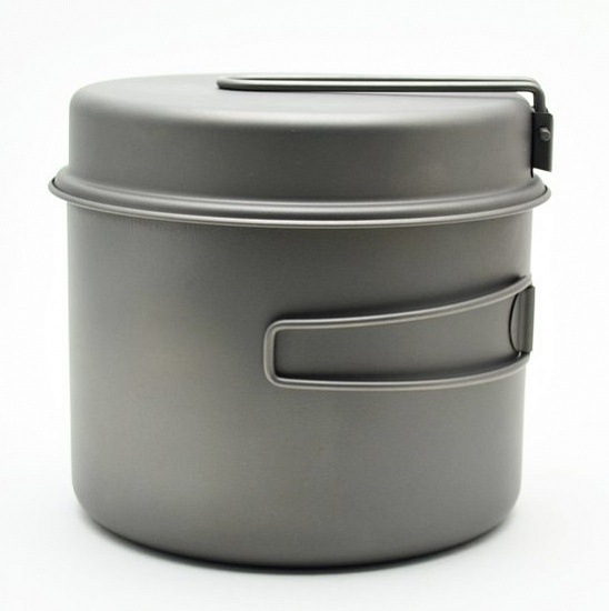Котелок Toaks Titanium 1600 мл Pot with Pan