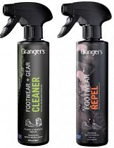 Набор для стирки Grangers Footwear Repel + Gear+Footwear Cleaner 275 мл