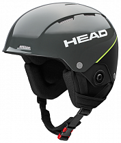 Горнолыжный шлем Head Team Si + Chinguard Anthracite/Black