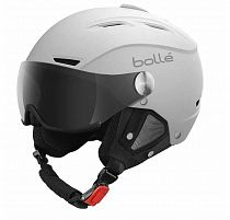 Горнолыжный шлем Bolle Backline Visor Soft White