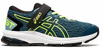 Кроссовки детские ASICS GT-1000 9 PS Magnetic Blue/Safety Yellow