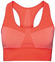 Топ женский Odlo Sports Bra Seamless Medium Коралловый