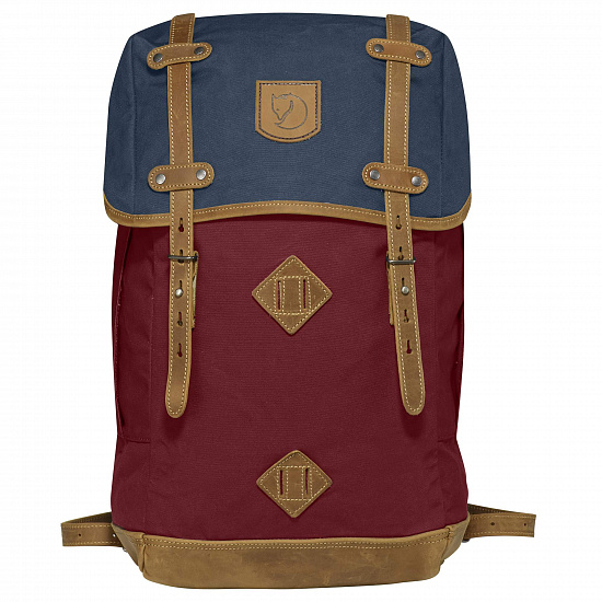 Рюкзак Fjallraven Rucksack No.21 Large Ox Red-Navy