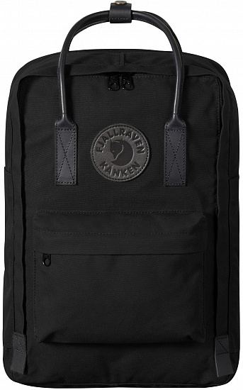 "Рюкзак Fjallraven Kanken No. 2 Laptop 15"" Black - Фото 1 большая"
