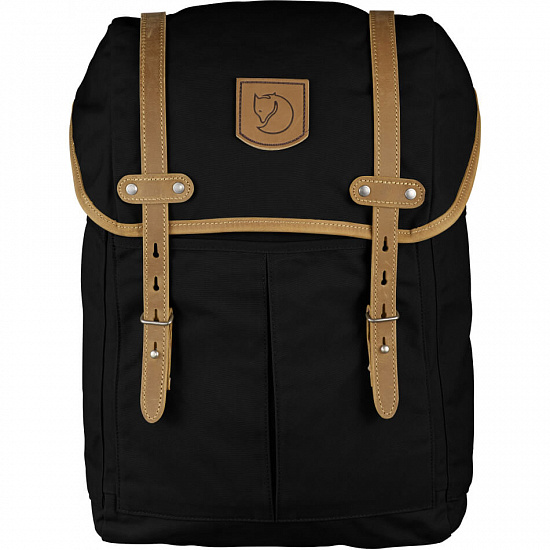Рюкзак Fjallraven Rucksack No.21 Medium Black - Фото 1 большая
