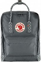 Рюкзак Fjallraven Kanken Super Grey-Chess Pattern