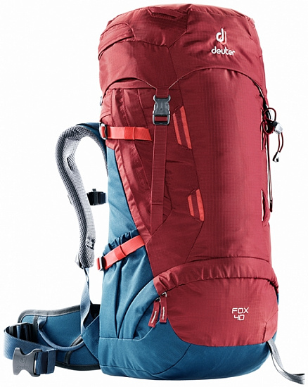 Рюкзак детский Deuter Fox 40 Cranberry Steel - Фото 1 большая